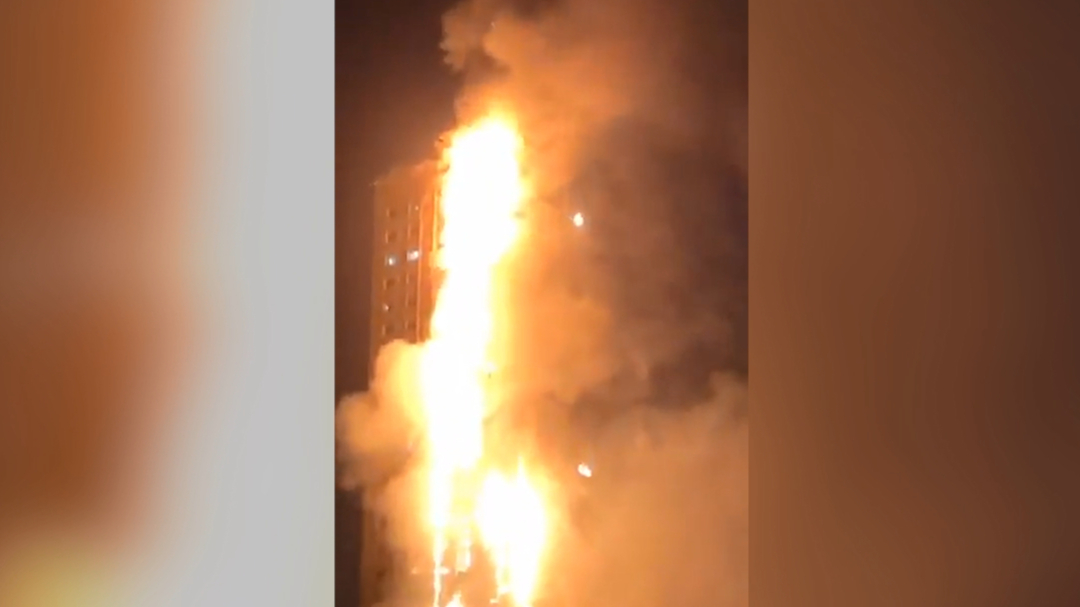 Massive fire engulfs building in UAE's Sharjah, no casualties reported