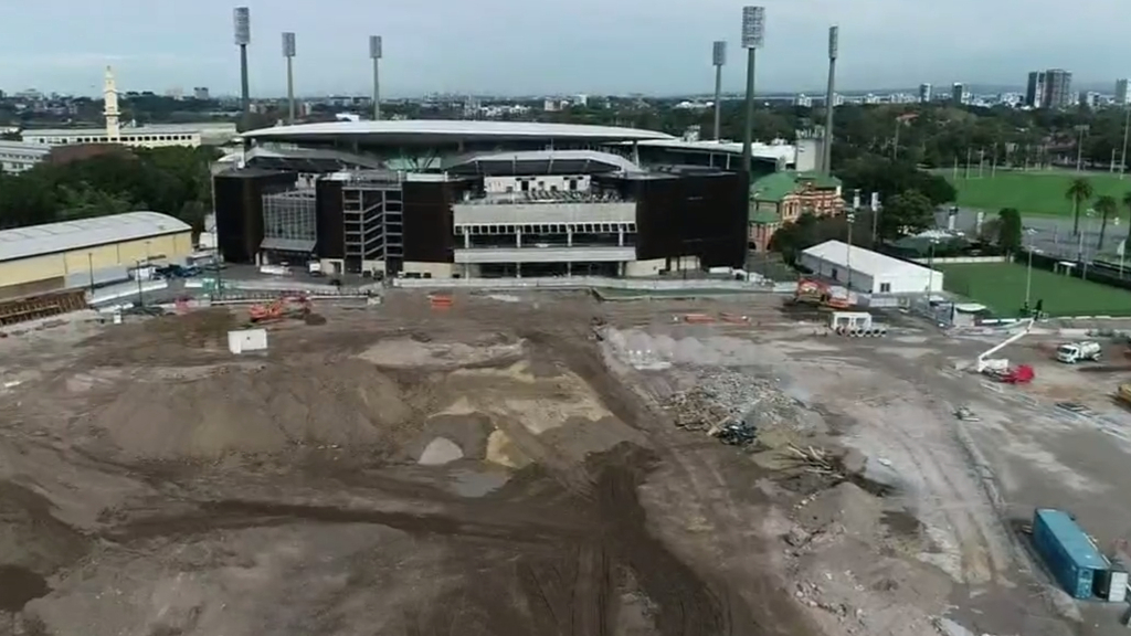 The ANZ Stadium re-development could be put on hold