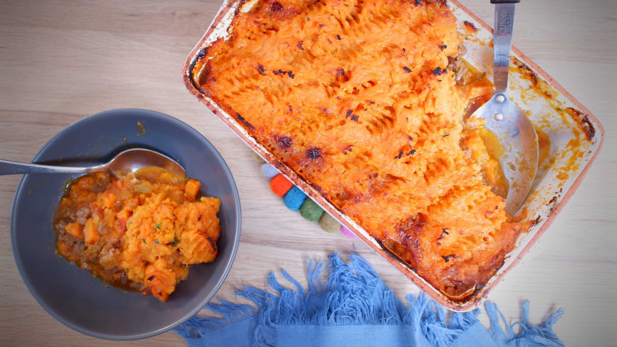 9Honey Quarantine Kitchen: That's classic shepherd's pie with a sweet potato twist