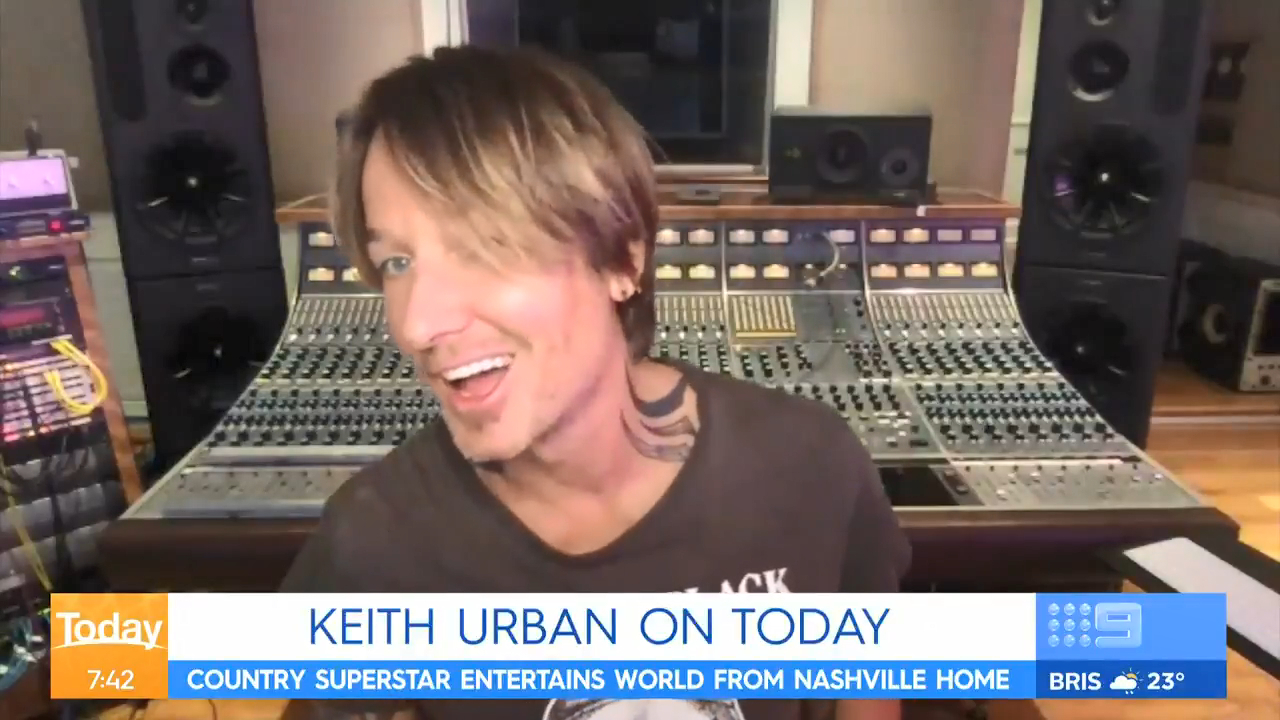 Keith Urban addresses Nicole Kidman's injury on The Today Show