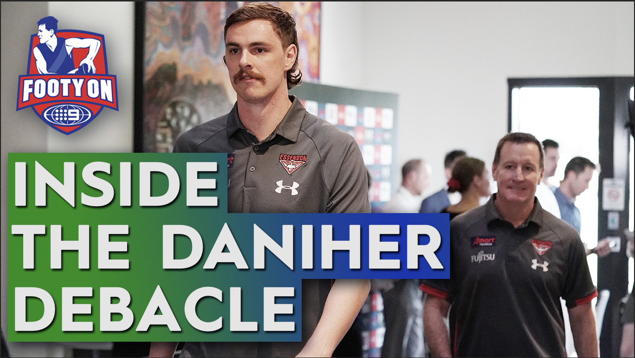 Talk of the Town: Who is the blame for Joe Daniher's recent woes at Essendon?