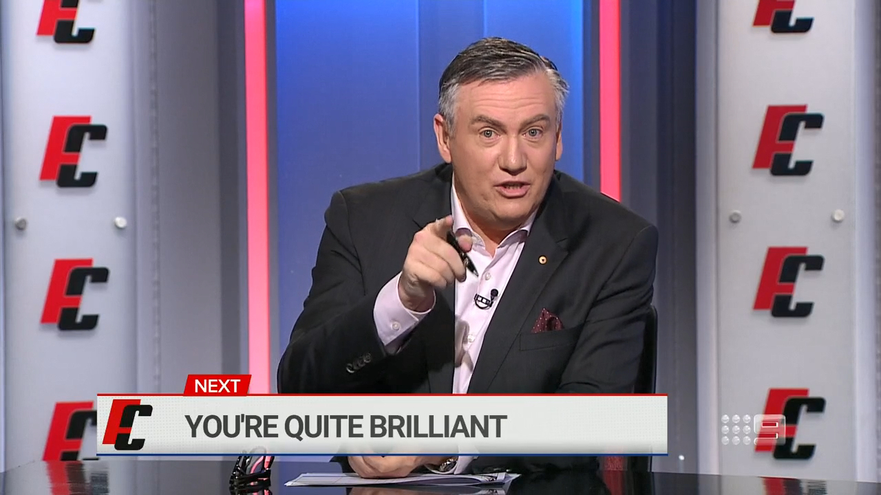McGuire fumes at Lou Richards snub