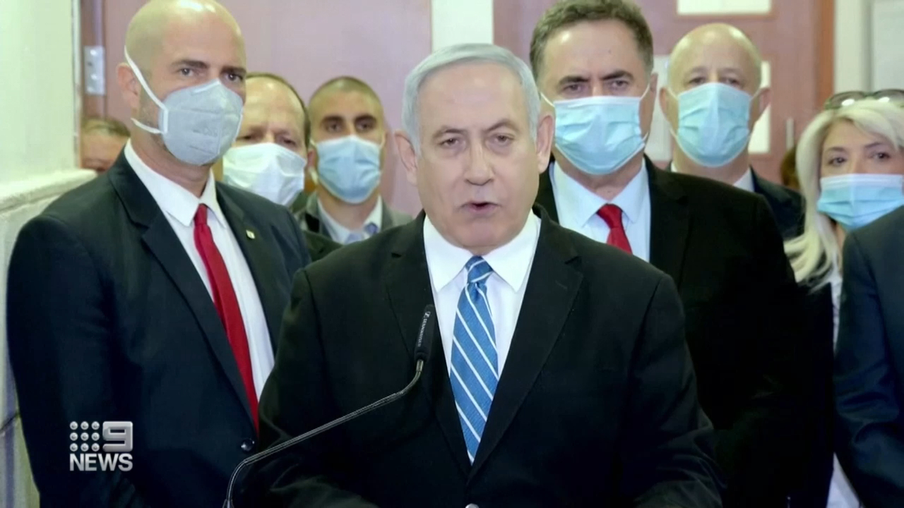 Israeli leader's corruption trial begins