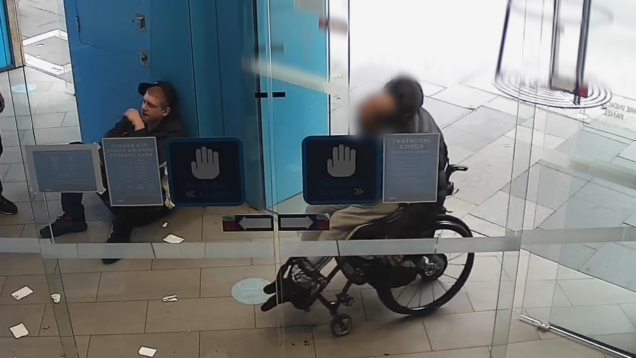 Wheelchair-bound man robbed of cash at Sydney ATM