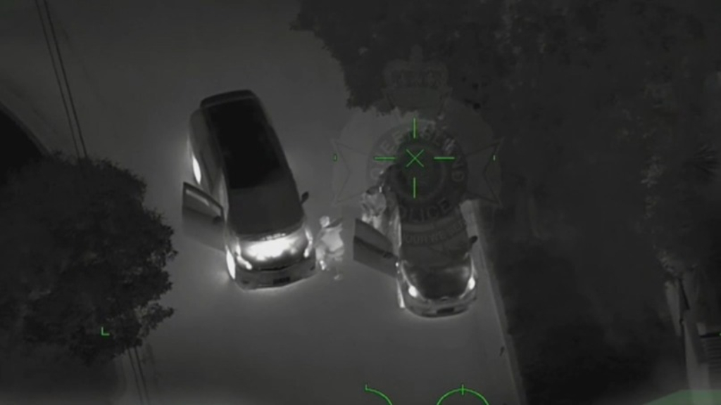 Queensland Police release Polair vision of a chase through Brisbane's north