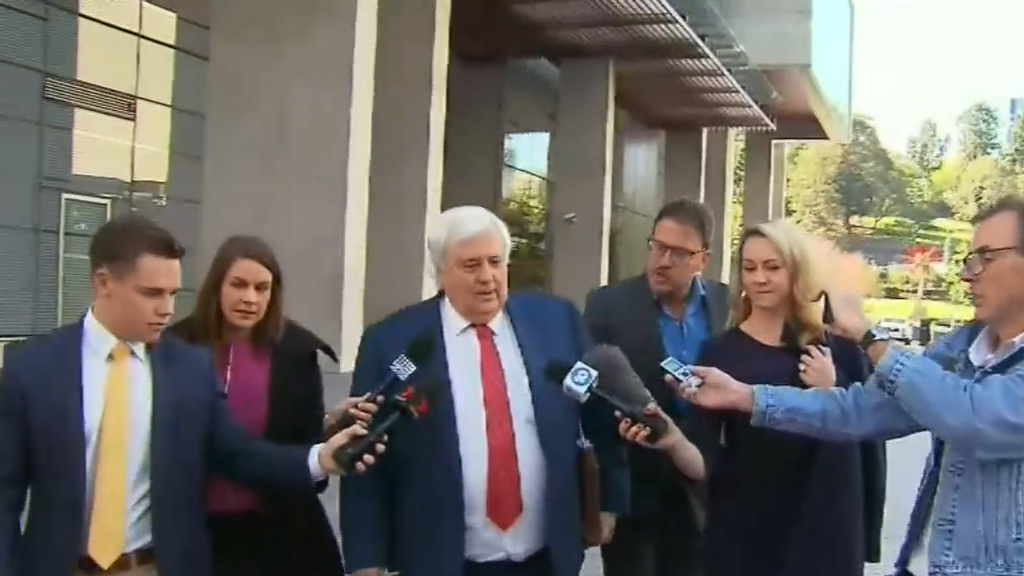 Coronavirus: Clive Palmer looking to dispute denial