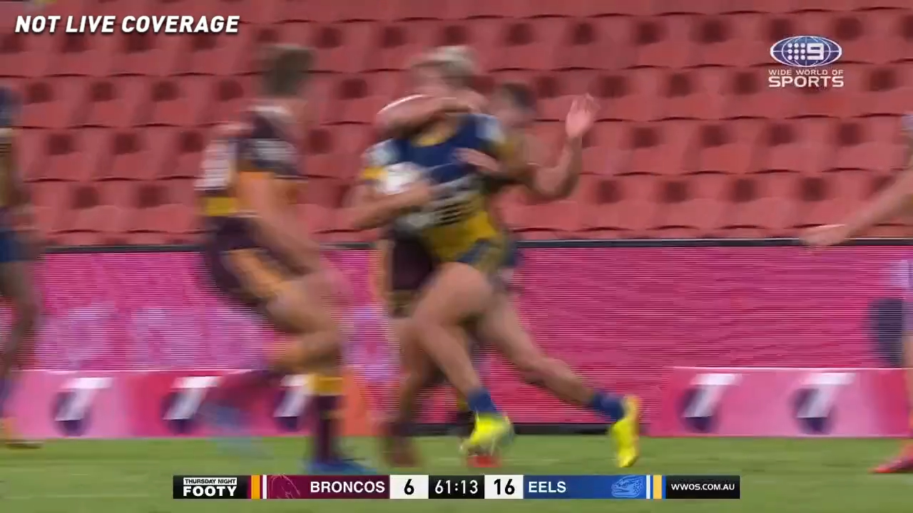 Kotoni Staggs in trouble over dangerous tackle