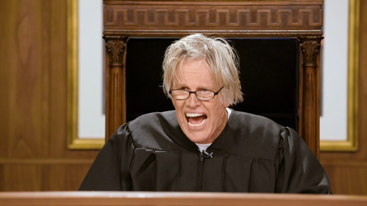 Gary Busey in Gary Busey Pet Judge