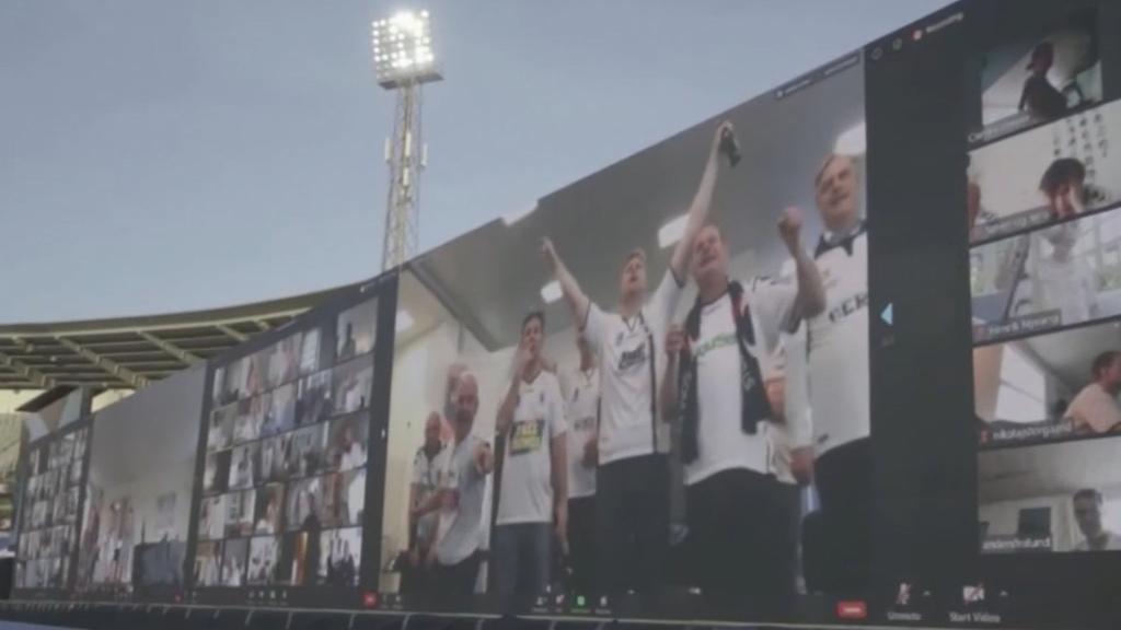 Danish football fans go digital