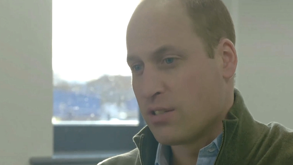 Prince William opens up about the 'trauma' of losing mum Princess Diana