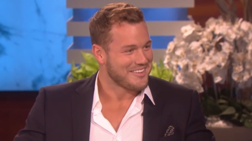 Ellen DeGeneres interviews US Bachelor Colton Underwood
