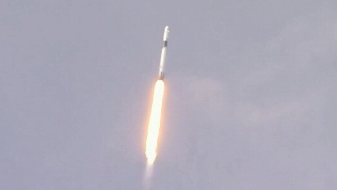 SpaceX successfully launches astronauts into space