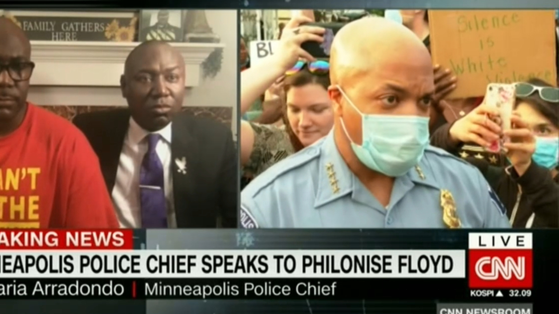 US police chief says officers involved in Floyd's death 'complicit'