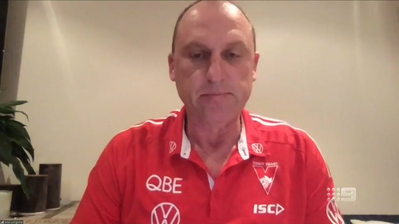 Longmire responds to Russell comments
