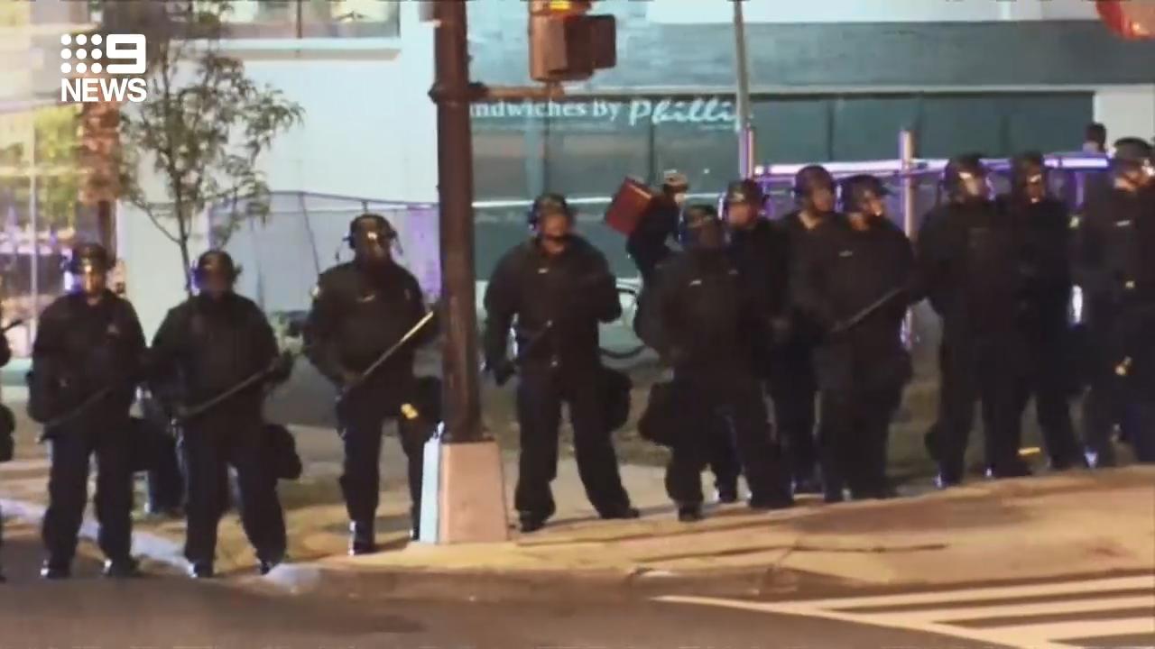 Washington DC protests continue despite curfew