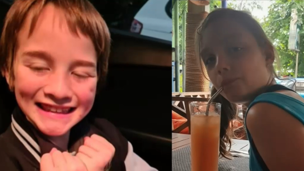 Family pay tribute to children killed in crash