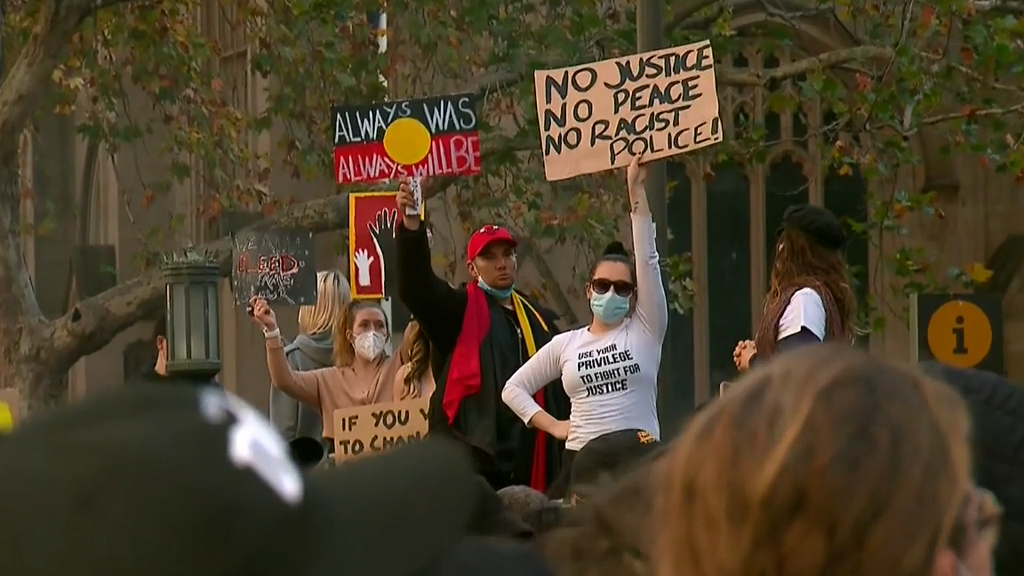Sydney protest deemed legal before commencing