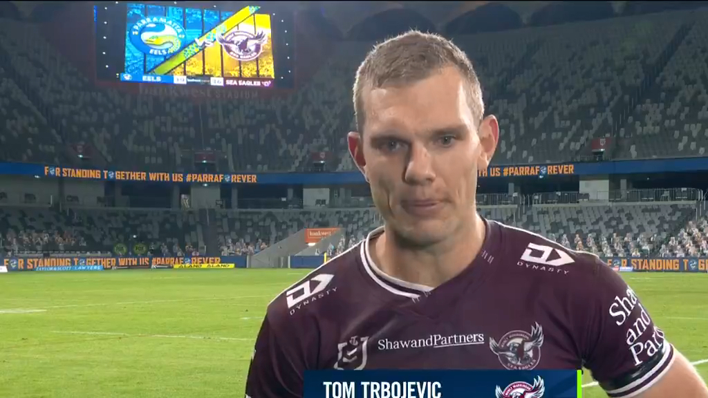 Trbojevic denies forward pass
