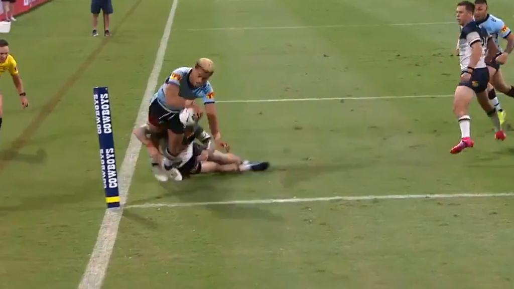 Ronaldo Mulitalo scores his second try