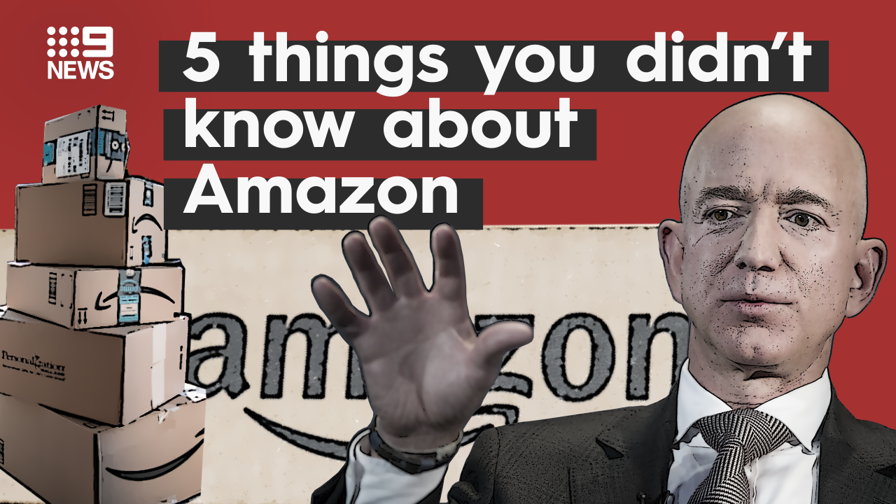 Five things you might not know about Jeff Bezos
