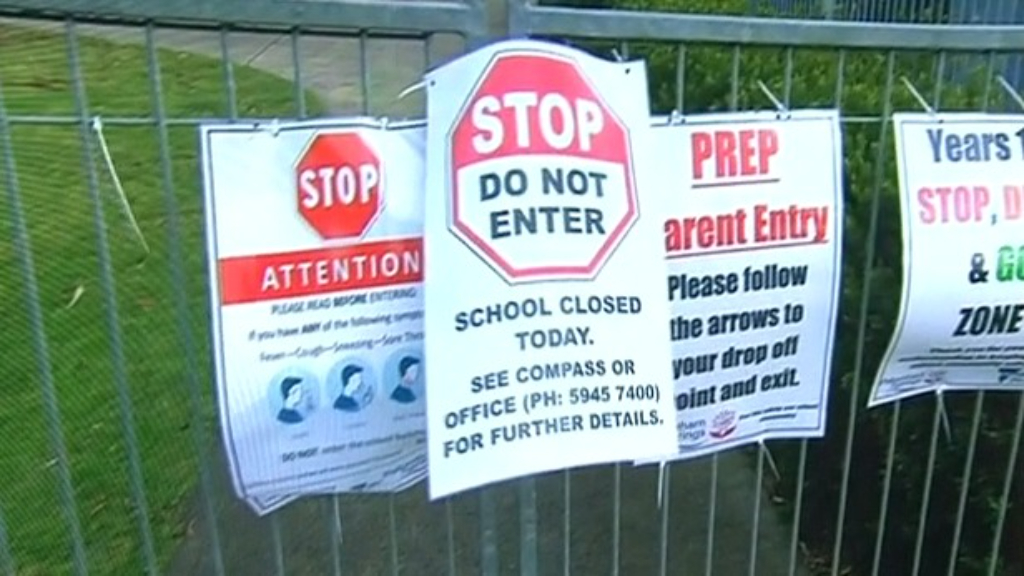 Coronavirus outbreak grows as another school closes