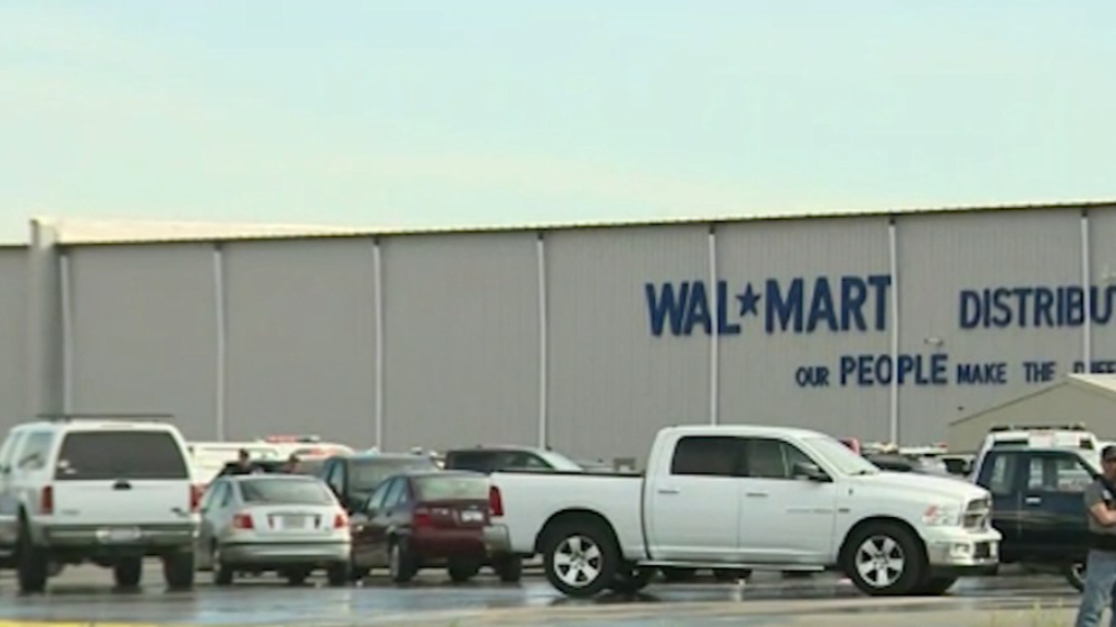 2 dead in shooting at Walmart distribution centre in California, including gunman