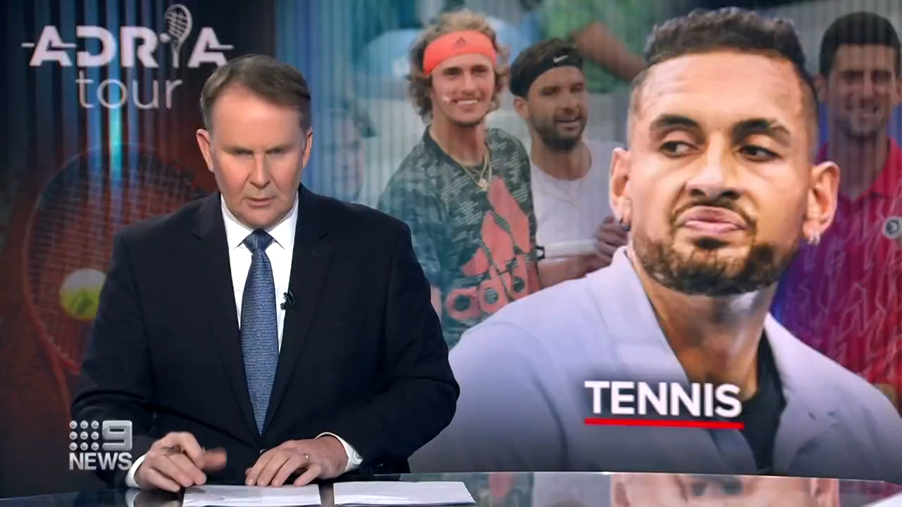 Kyrgios' scathing takedown of 'selfish' Zverev