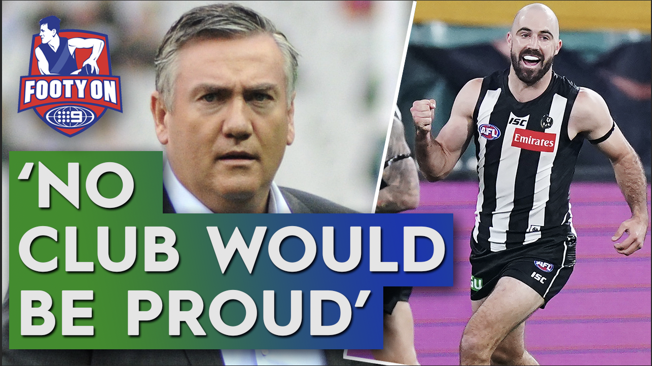 Why Collingwood's Sidebottom response missed the mark