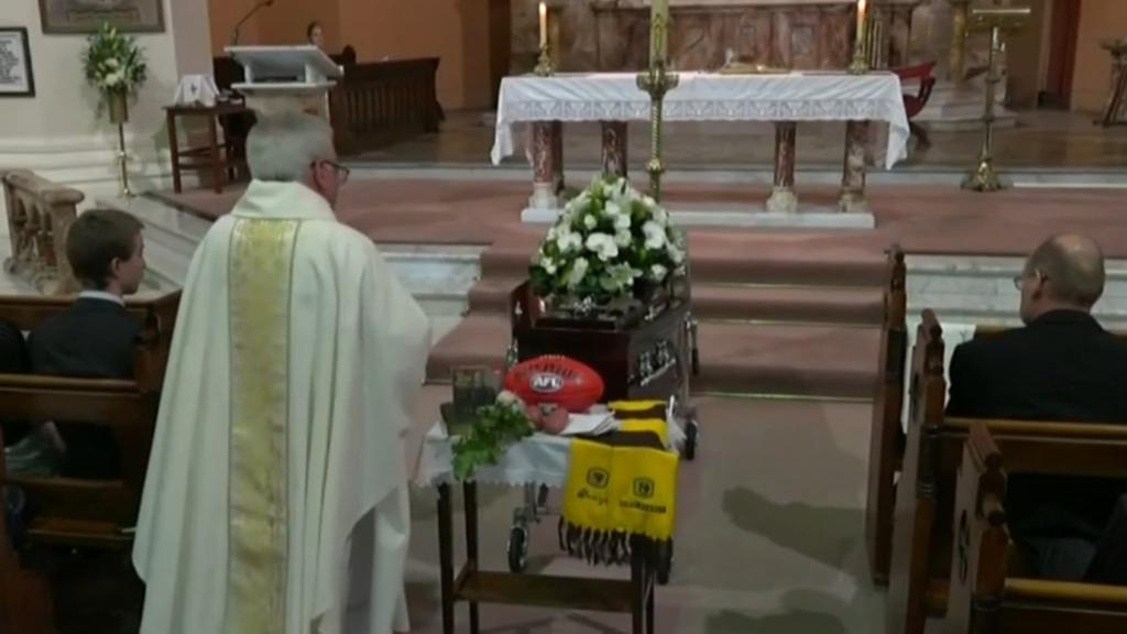 John Kennedy Sr mourned in funeral