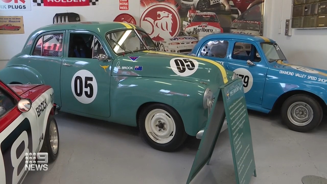 Peter Brock museum exhibit launched