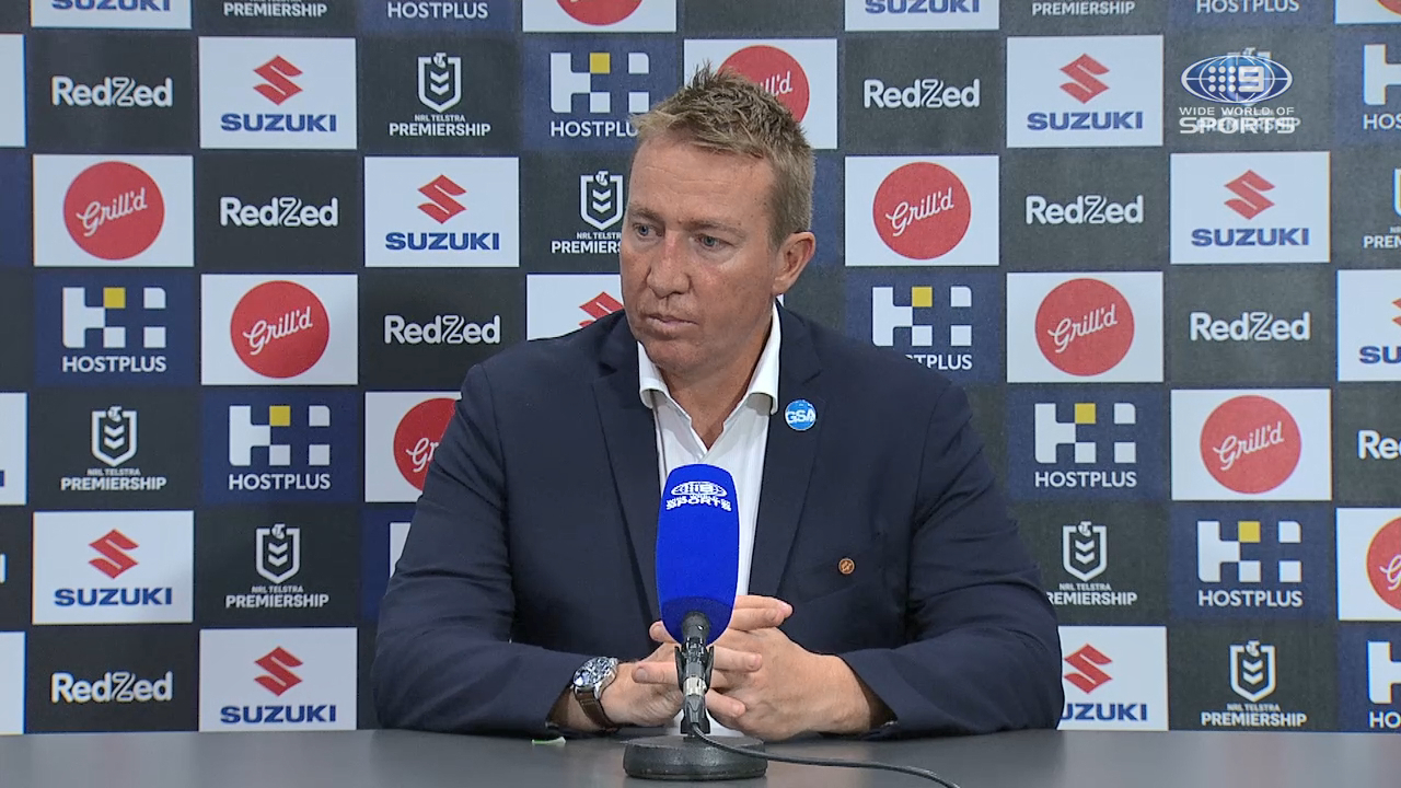 Storm v Roosters Round 8: Presser - Trent Robinson