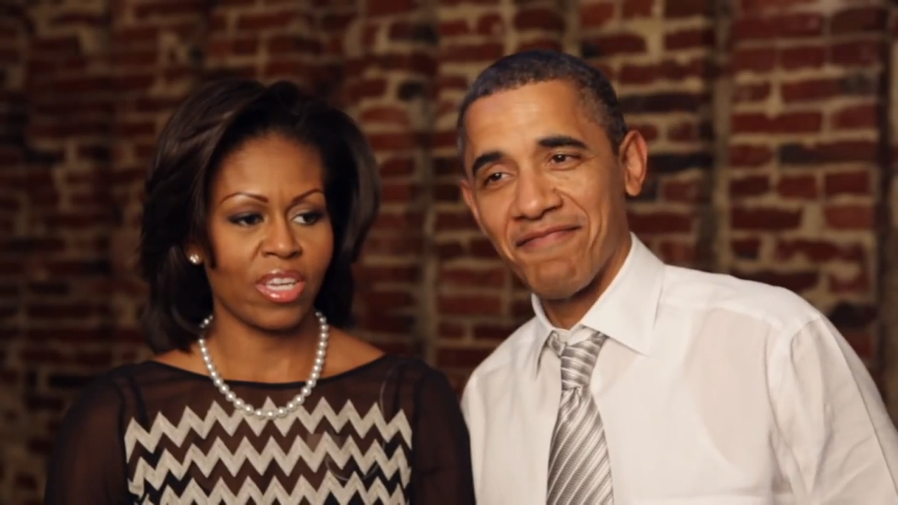 Michelle and Barack Obama recall their dating days