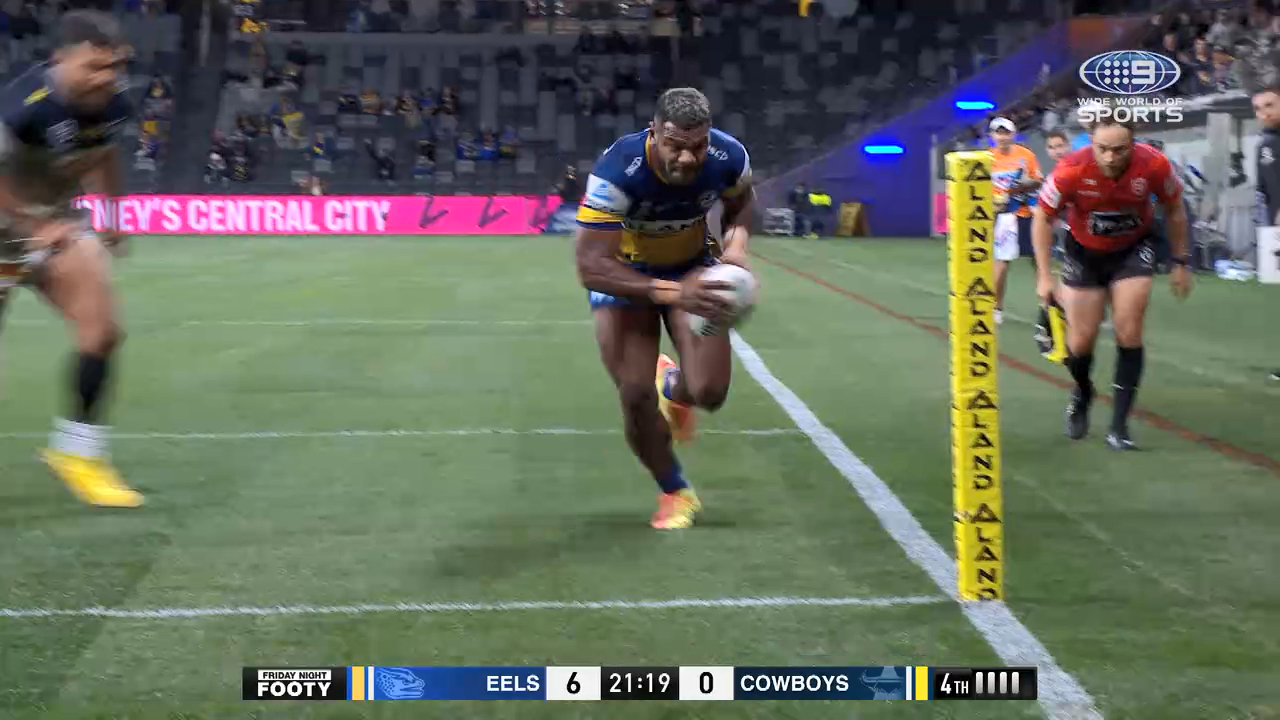 NRL Highlights: Eels v Cowboys - Round 8