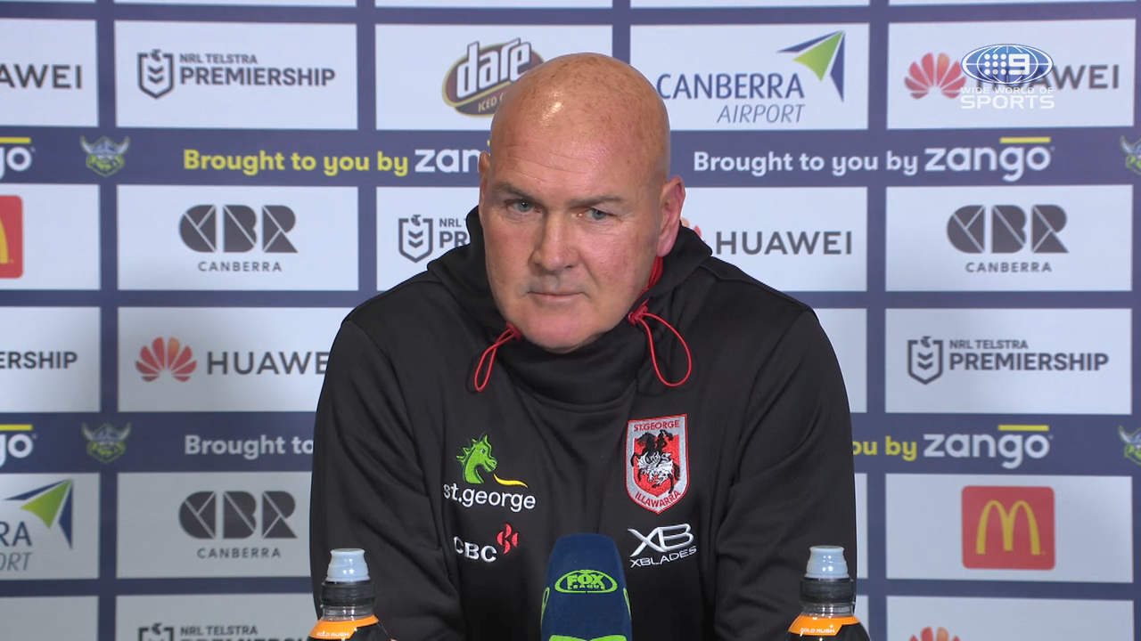 Raiders v Dragons Round 8: Presser - Paul McGregor