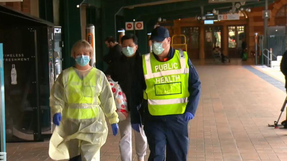 Coronavirus: Sydney train passenger quarantined