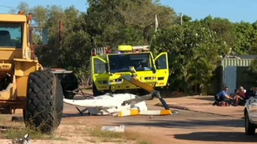 Two dead, two critical after chopper crashes in Broome