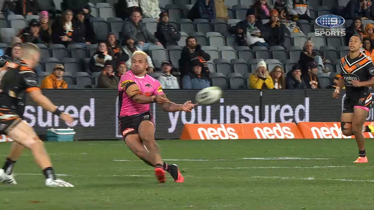 NRL Highlights: Tigers v Panthers - Round 8