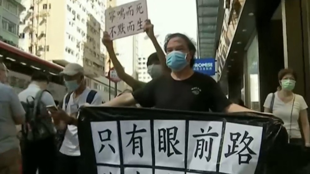 Controversial Hong Kong security law passed