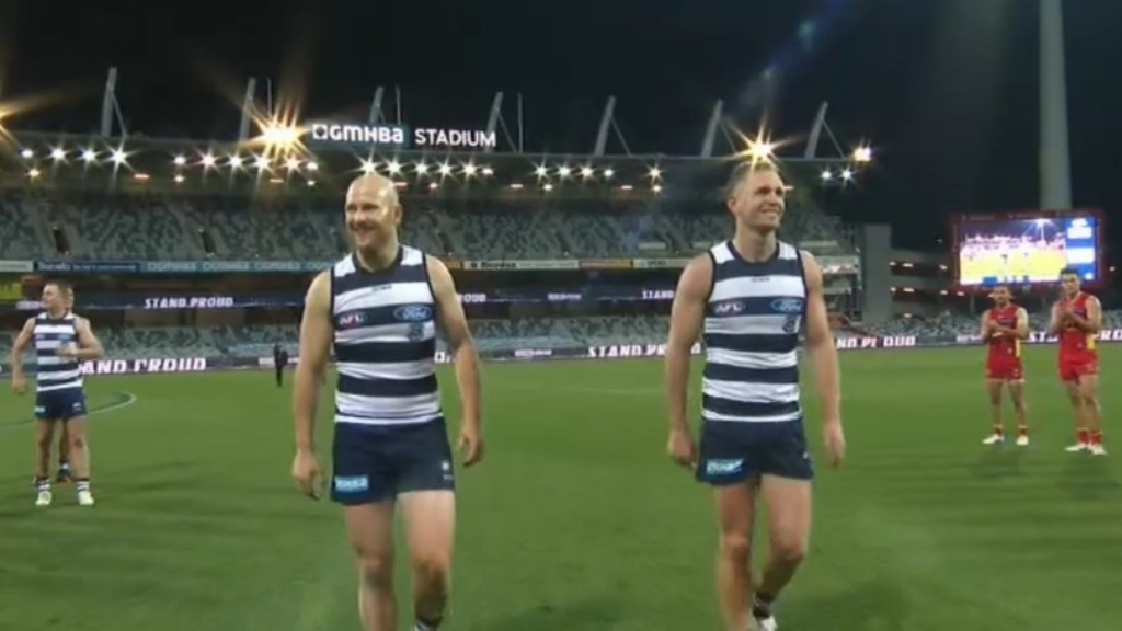 Geelong greats' classy act