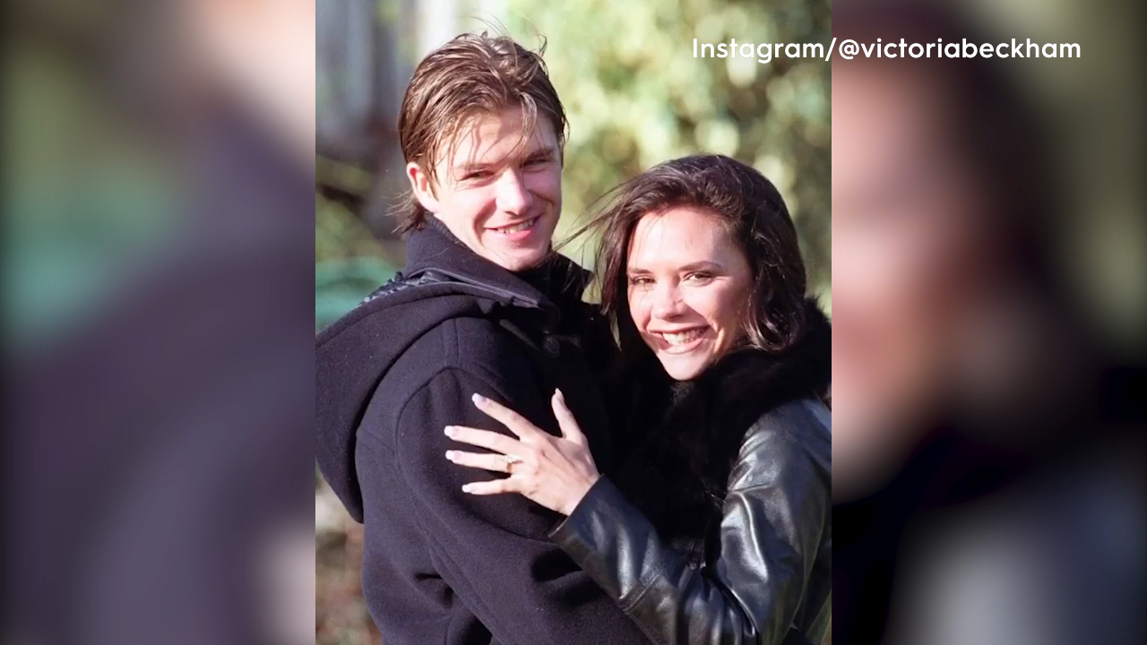 Victoria and David Beckham celebrate 21st wedding anniversary