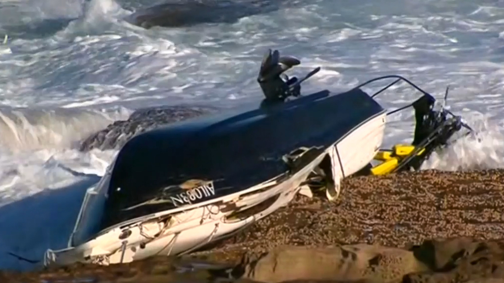 Three dead in Botany Bay boat accident