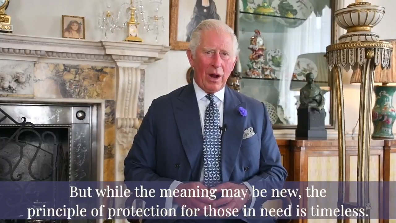 Prince Charles delivers heartfelt speech to NHS workers