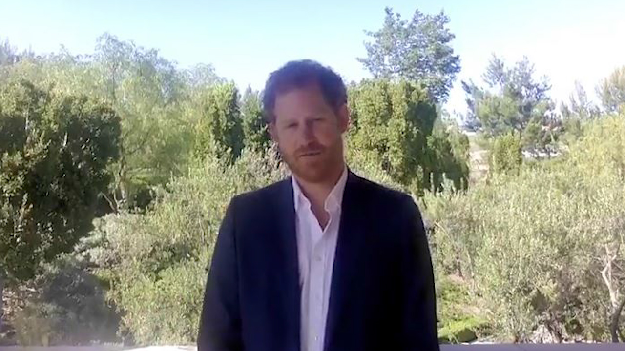 Prince Harry speaks about resilience in new video