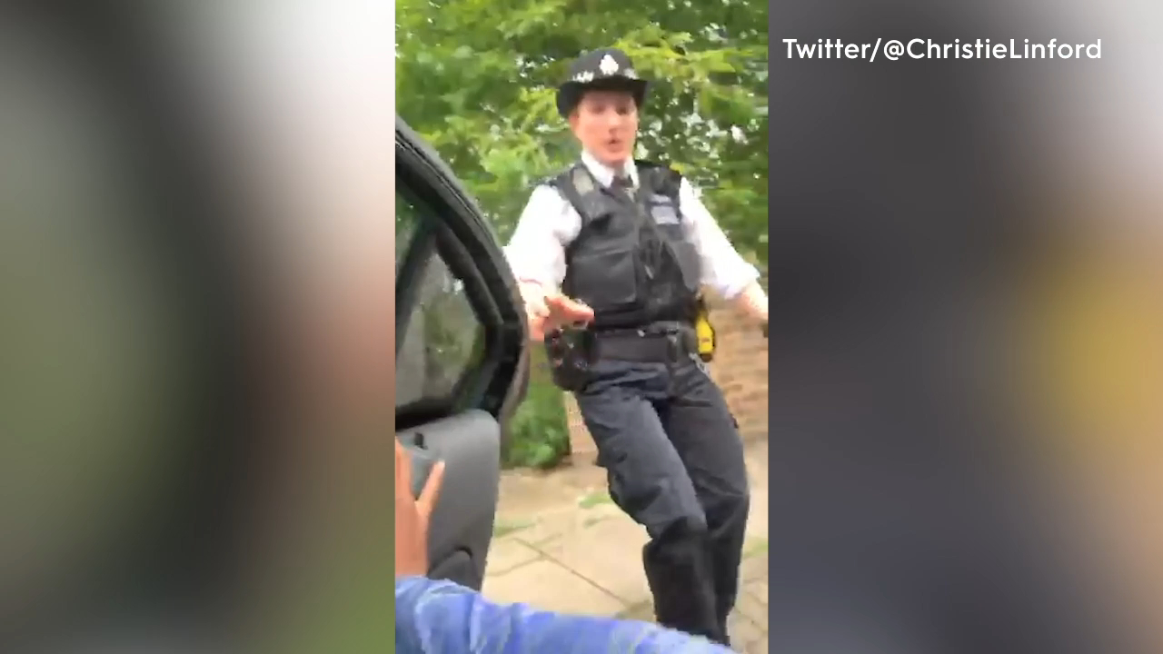 British sprinter shares video of scary police arrest