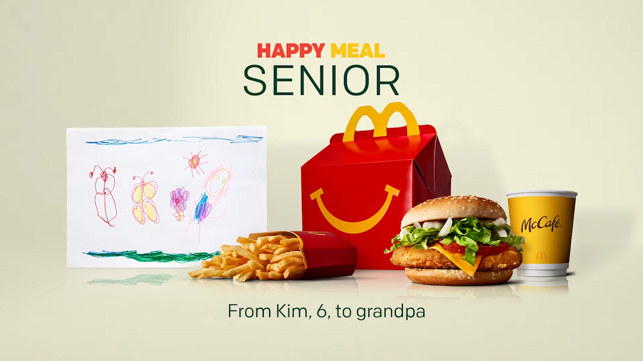 Coronavirus: McDonald's Sweden debut Happy Meals for seniors