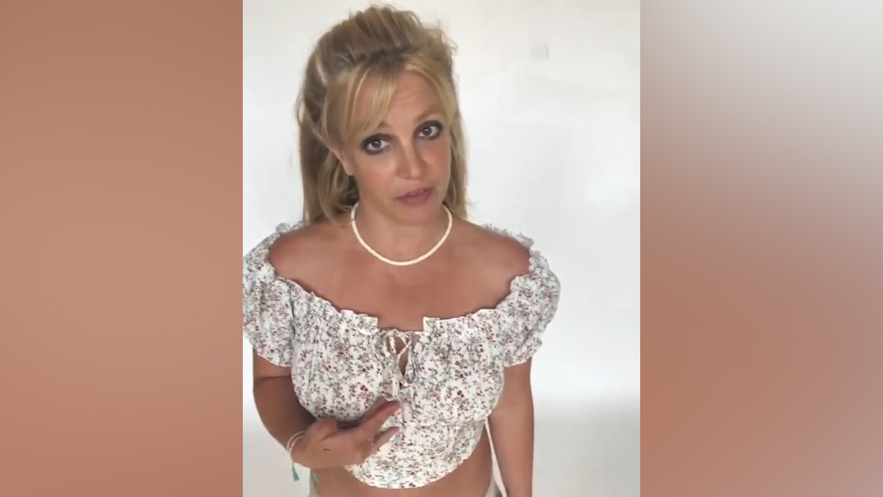 Britney Spears wishes for love, happiness and world supply of designer clothes