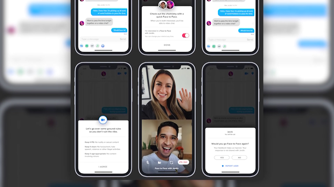Tinder begins testing video chat feature in Australia