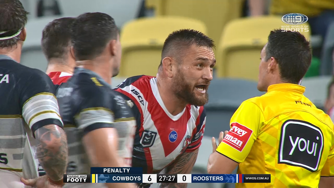 NRL Highlights: Cowboys v Roosters - Round 9
