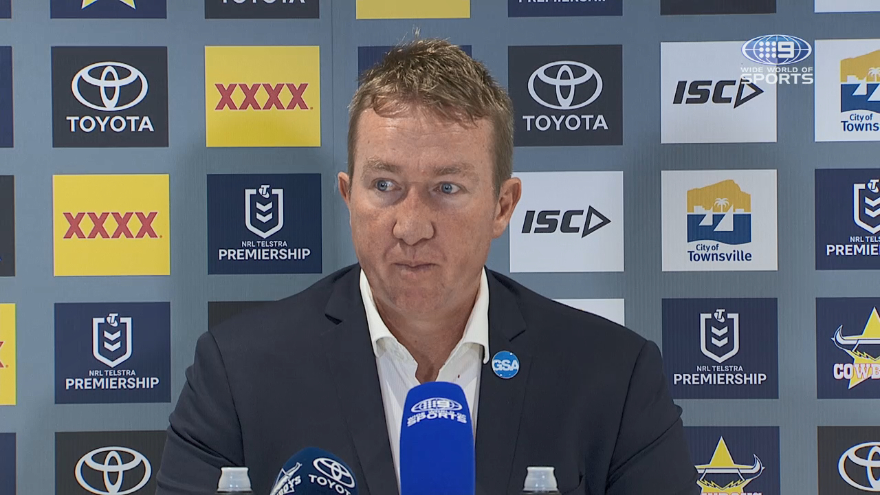Cowboys v Roosters Round 9: Presser - Trent Robinson