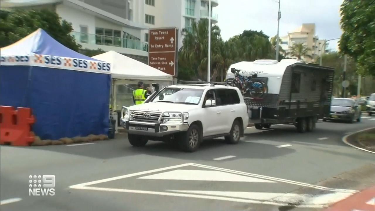 Coronavirus: Thousands of interstate travellers make their way to Queensland